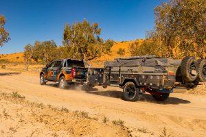 MDC Robson XTT Double Fold Offroad Camper Trailer
