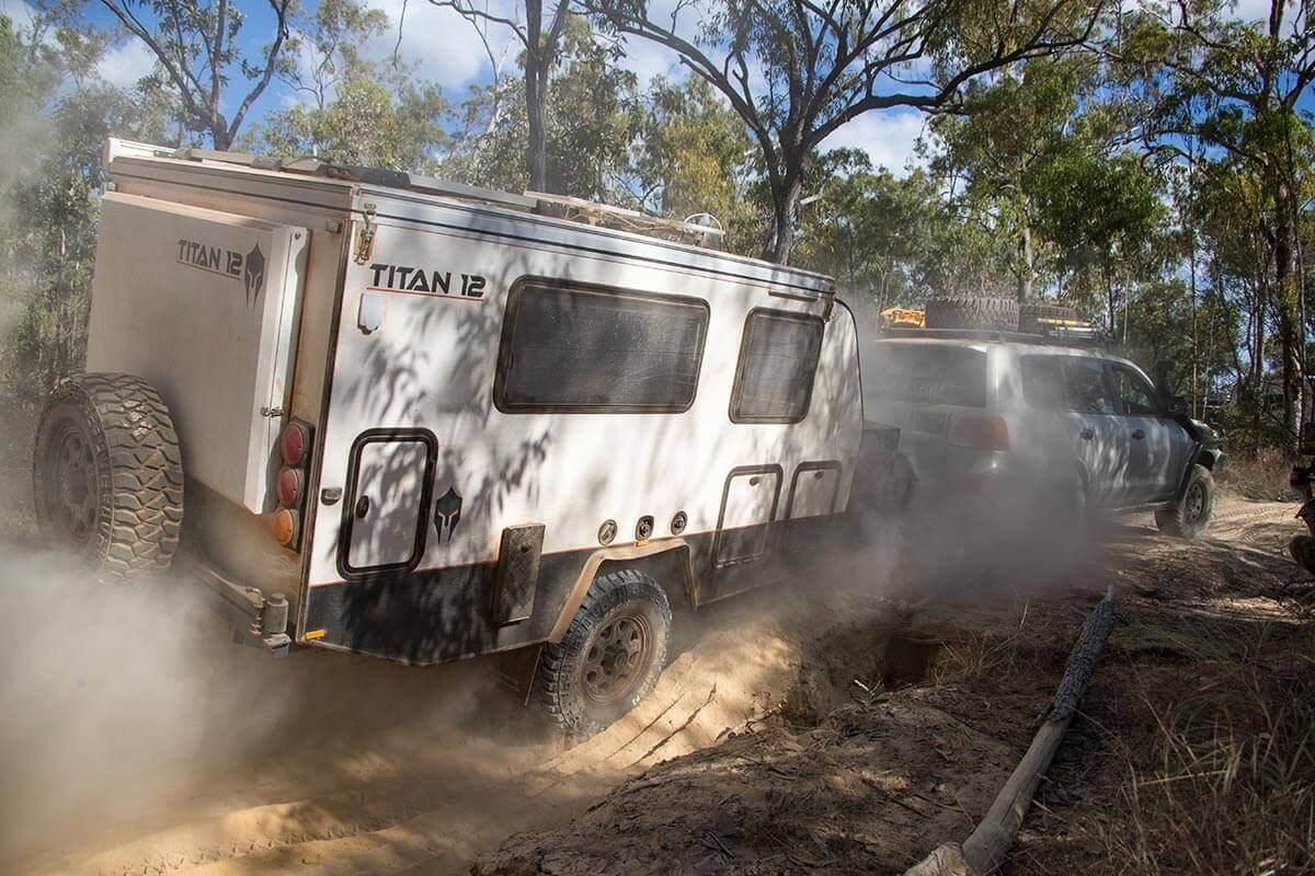AusRV International Titan 12 Caravan