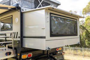 MDC XT11 Offroad Caravan External Features