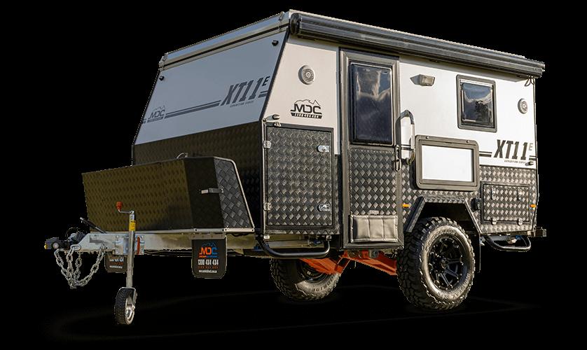 MDC XT11E Offroad Caravan Header