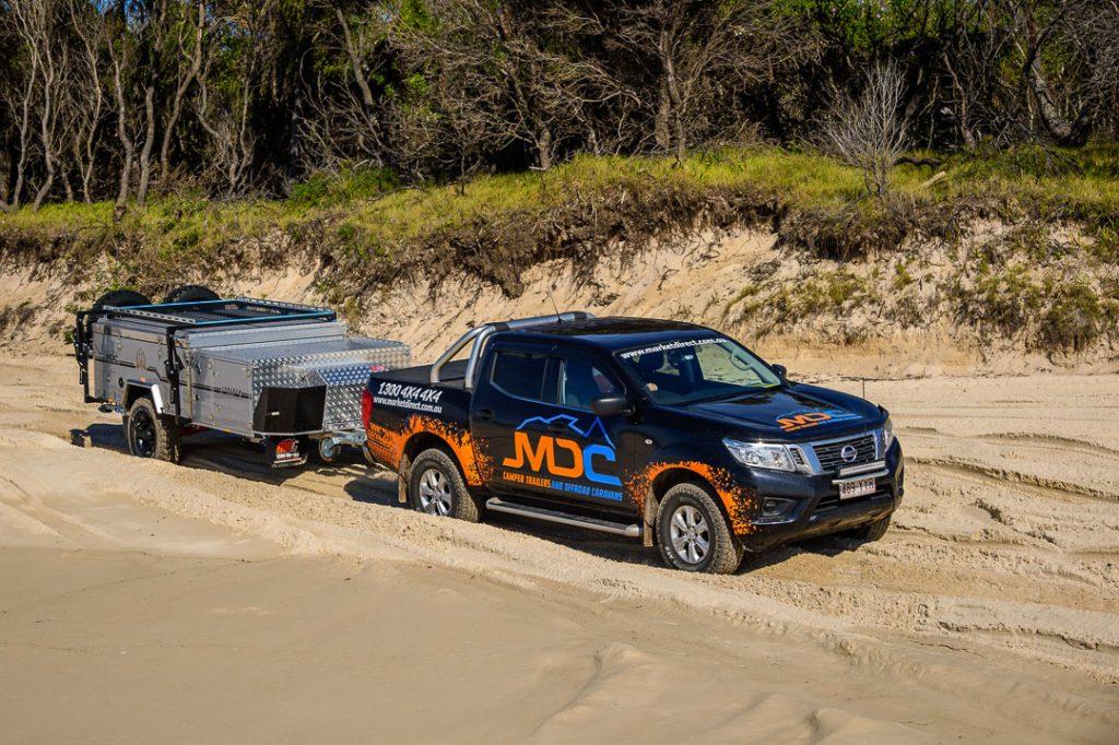 MDC Cruizer Slide Offroad Camper Trailer 4x4 Beach Access
