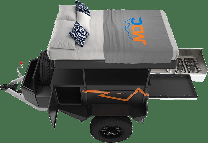 Mod Box Offroad Camper Trailer