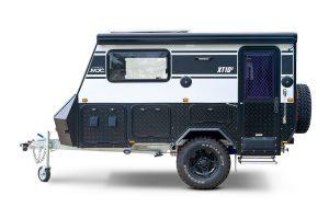 MDC XT10E Electric Opening Offroad Caravan Interior
