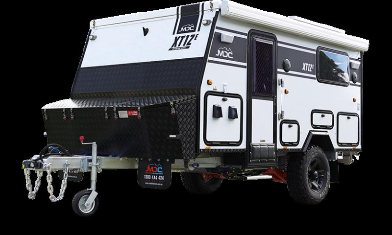 MDC XT12E Offroad Caravan