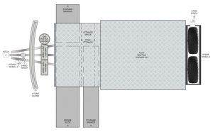 MDC AU Explorer FF offroad camper trailer 2D Floorplan