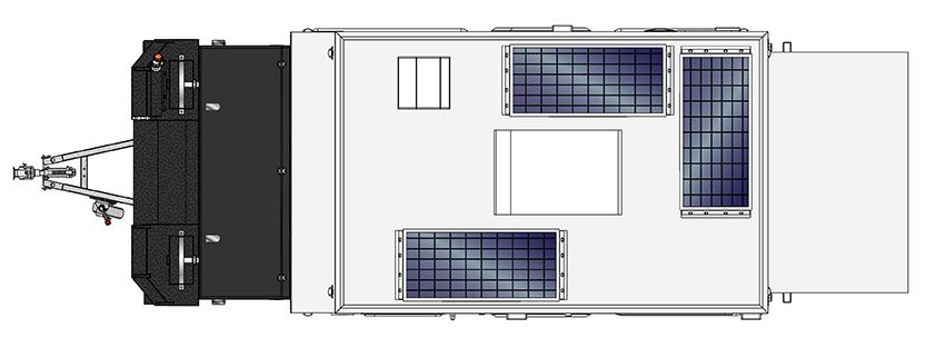 MDC Forbes 12 plus Offroad caravan 2D Floorplan 02