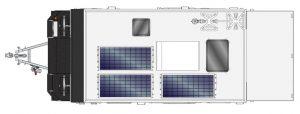 MDC AU Forbes 13 Plus Offroad caravan 2D Floorplan
