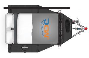 MDC AU Mod Box Offroad camper trailer 2D Floorplan