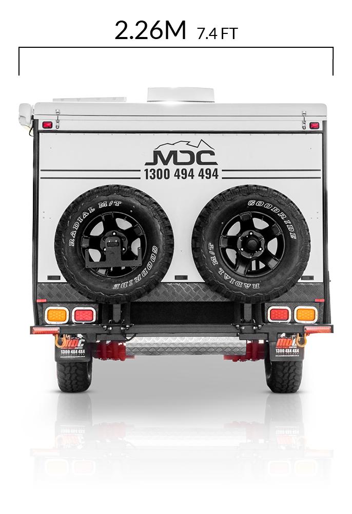 MDC AU Forbes 13 offroad caravan dimensions