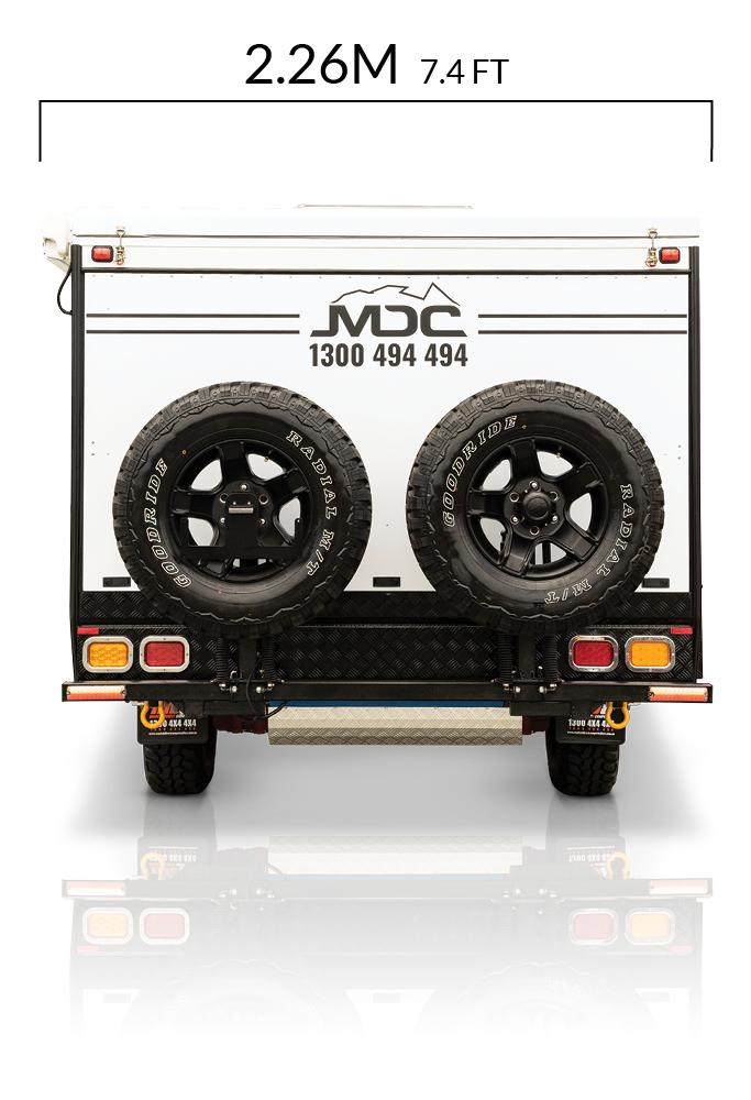 MDC AU Forbes 15 plus offroad caravan dimensions